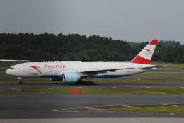 LEGACY-747さんが、成田国際空港で撮影したオーストリア航空 777-2Z9/ERの航空フォト(飛行機 写真・画像)