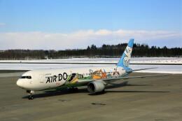 にしやんさんが、帯広空港で撮影したAIR DO 767-381の航空フォト(飛行機 写真・画像)