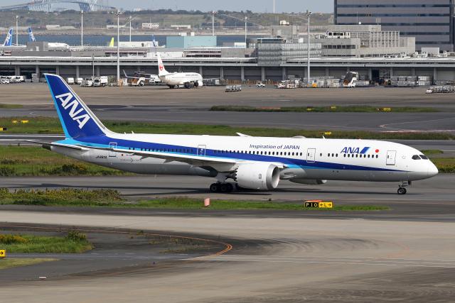 Echo-Kiloさんが、羽田空港で撮影した全日空 787-9の航空フォト(飛行機 写真・画像)