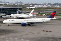Echo-Kiloさんが、羽田空港で撮影したデルタ航空 A330-941の航空フォト(飛行機 写真・画像)