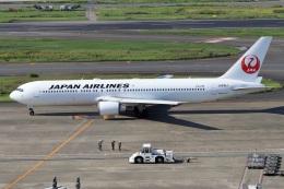 kan787allさんが、羽田空港で撮影した日本航空 767-346/ERの航空フォト(飛行機 写真・画像)