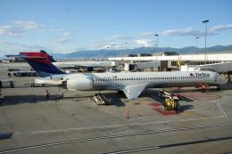 kinsanさんが、ソルトレークシティ国際空港で撮影したデルタ航空 MD-90-30の航空フォト(飛行機 写真・画像)