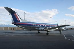 kinsanさんが、ソルトレークシティ国際空港で撮影したスカイウエスト EMB 120ERの航空フォト(飛行機 写真・画像)