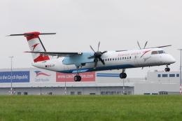 kinsanさんが、ヴァーツラフ・ハヴェル・プラハ国際空港で撮影したオーストリアン・アローズ DHC-8-402Q Dash 8の航空フォト(飛行機 写真・画像)