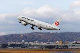 latchさんが、伊丹空港で撮影した日本航空 777-246/ERの航空フォト(飛行機 写真・画像)