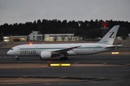 PIRORINGさんが、成田国際空港で撮影したZIPAIR 787-8 Dreamlinerの航空フォト(飛行機 写真・画像)