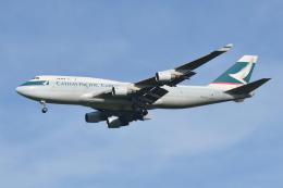 Deepさんが、成田国際空港で撮影したキャセイパシフィック航空 747-412(BCF)の航空フォト(飛行機 写真・画像)