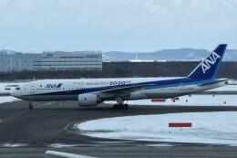 PIRORINGさんが、新千歳空港で撮影した全日空 777-281/ERの航空フォト(飛行機 写真・画像)