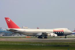 inyoさんが、成田国際空港で撮影したノースウエスト航空 747-251F/SCDの航空フォト(飛行機 写真・画像)