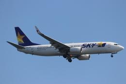 imosaさんが、羽田空港で撮影したスカイマーク 737-8HXの航空フォト(飛行機 写真・画像)