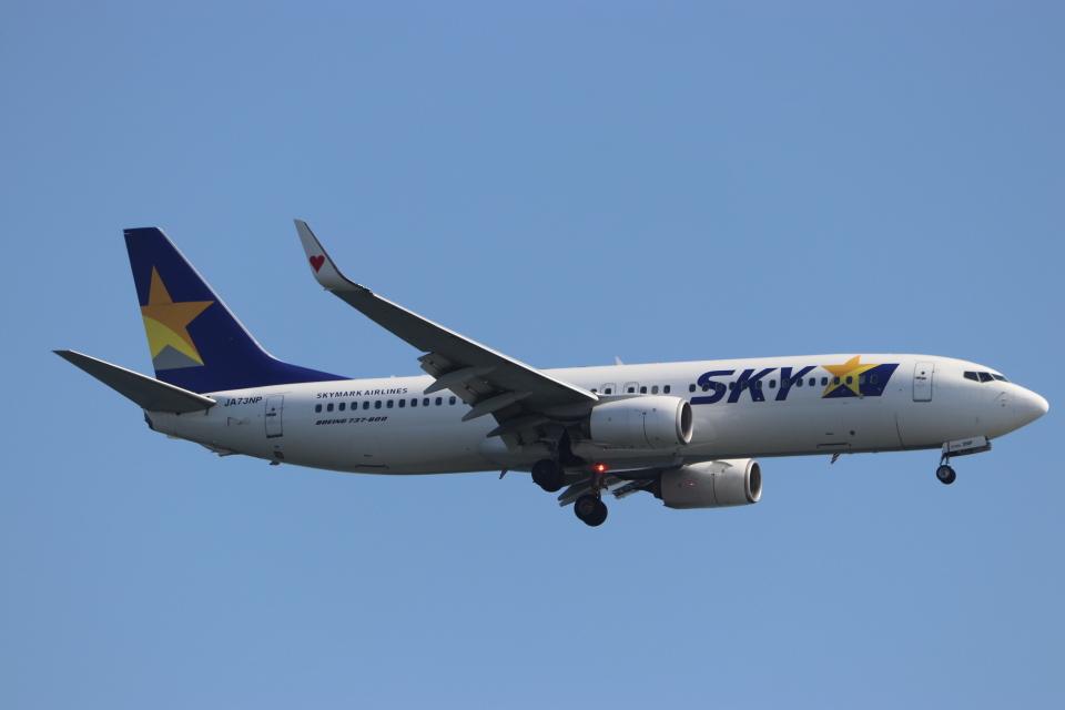 imosaさんのスカイマーク Boeing 737-800 (JA73NP) 航空フォト