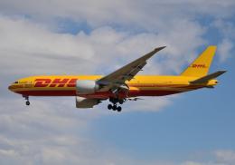 雲霧さんが、成田国際空港で撮影したDHL 777-FZNの航空フォト(飛行機 写真・画像)