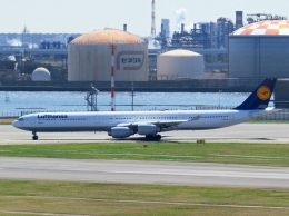 航空フォト:D-AIHB ルフトハンザドイツ航空 A340-600
