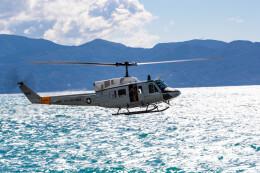 pcmediaさんが、沼津海浜訓練場で撮影したアメリカ空軍 UH-1N Twin Hueyの航空フォト(飛行機 写真・画像)