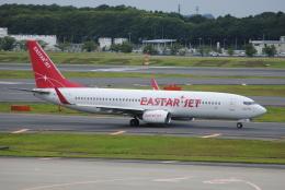 LEGACY-747さんが、成田国際空港で撮影したイースター航空 737-86Jの航空フォト(飛行機 写真・画像)