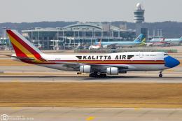 LSGさんが、仁川国際空港で撮影したカリッタ エア 747-446(BCF)の航空フォト(飛行機 写真・画像)
