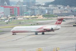 溝川 眞司さんが、台北松山空港で撮影した遠東航空の航空フォト(飛行機 写真・画像)