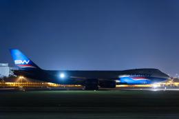 SGR RT 改さんが、成田国際空港で撮影したシルクウェイ・ウェスト・エアラインズ 747-83QFの航空フォト(飛行機 写真・画像)