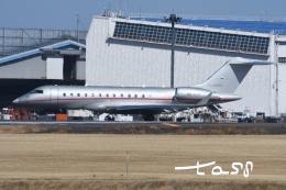 tassさんが、成田国際空港で撮影したビスタジェット BD-700-1A10 Global 6000の航空フォト(飛行機 写真・画像)