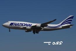 tassさんが、成田国際空港で撮影したナショナル・エアラインズ 747-412(BCF)の航空フォト(飛行機 写真・画像)