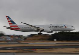 雲霧さんが、成田国際空港で撮影したアメリカン航空 787-9の航空フォト(飛行機 写真・画像)