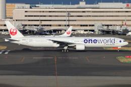 とらとらさんが、羽田空港で撮影した日本航空 777-346の航空フォト(飛行機 写真・画像)