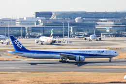 かっちゃん✈︎さんが、羽田空港で撮影した全日空 777-381の航空フォト(飛行機 写真・画像)