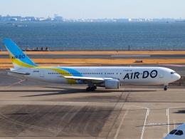 FT51ANさんが、羽田空港で撮影したAIR DO 767-33A/ERの航空フォト(飛行機 写真・画像)