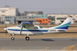 Hii82さんが、八尾空港で撮影した第一航空 TU206G Turbo Stationair 6の航空フォト(飛行機 写真・画像)