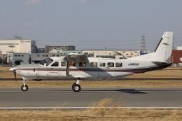 Hii82さんが、八尾空港で撮影した朝日航空 208B Grand Caravanの航空フォト(飛行機 写真・画像)