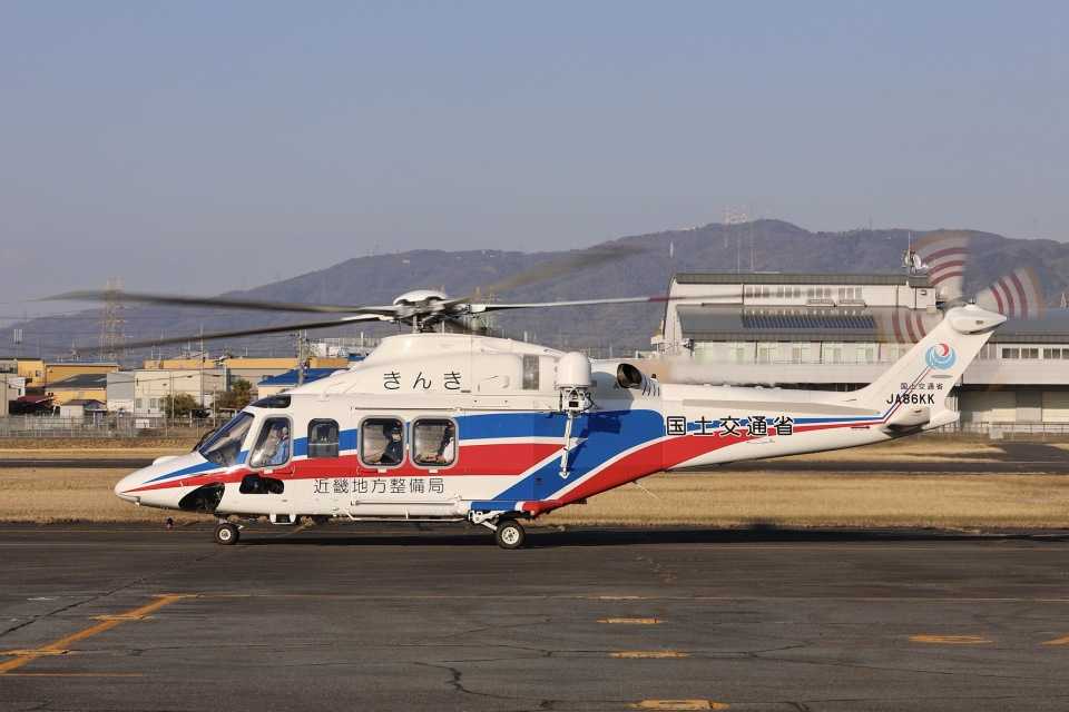 Hii82さんの国土交通省 地方整備局 Leonardo AW139 (JA86KK) 航空フォト