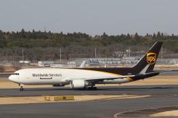 安芸あすかさんが、成田国際空港で撮影したUPS航空 767-34AF/ERの航空フォト(飛行機 写真・画像)