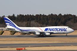 安芸あすかさんが、成田国際空港で撮影したナショナル・エアラインズ 747-412(BCF)の航空フォト(飛行機 写真・画像)
