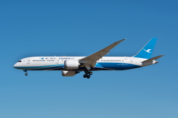 @たかひろさんが、成田国際空港で撮影した厦門航空 787-9の航空フォト(飛行機 写真・画像)