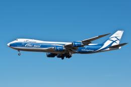 @たかひろさんが、成田国際空港で撮影したエアブリッジ・カーゴ・エアラインズ 747-83QFの航空フォト(飛行機 写真・画像)