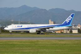 Deepさんが、松山空港で撮影した全日空 777-281/ERの航空フォト(飛行機 写真・画像)