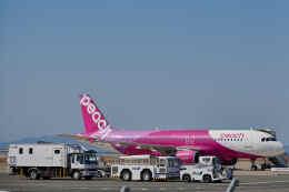 平凡なおっちゃんさんが、関西国際空港で撮影したピーチ A320-214の航空フォト(飛行機 写真・画像)