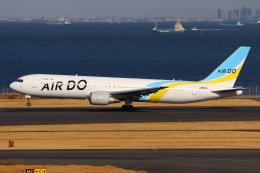 やつはしさんが、羽田空港で撮影したAIR DO 767-381/ERの航空フォト(飛行機 写真・画像)