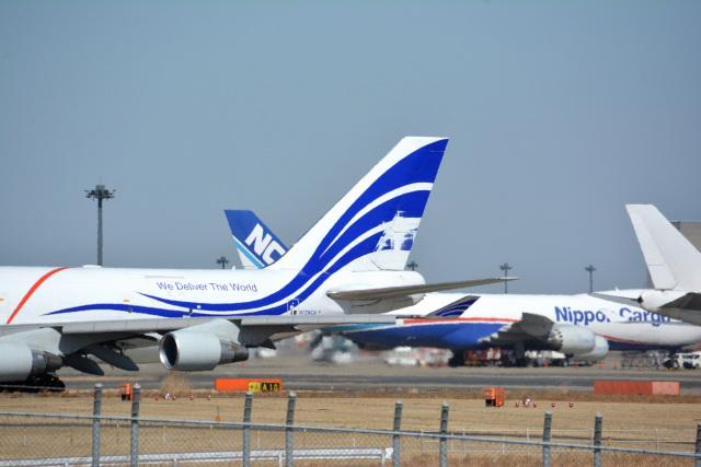 アルビレオさんが、成田国際空港で撮影したナショナル・エアラインズ 747-412(BCF)の航空フォト(飛行機 写真・画像)