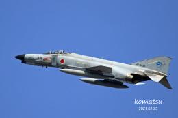 わかすぎさんが、小松空港で撮影した航空自衛隊 F-4EJ Phantom IIの航空フォト(飛行機 写真・画像)