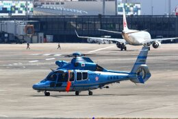 khideさんが、伊丹空港で撮影した兵庫県警察 EC155B1の航空フォト(飛行機 写真・画像)