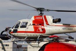 khideさんが、八尾空港で撮影した朝日航洋 AS350B3 Ecureuilの航空フォト(飛行機 写真・画像)
