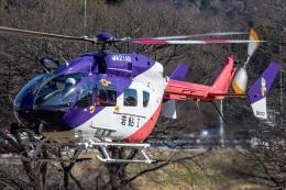 T spotterさんが、岐阜基地で撮影した岐阜県防災航空隊 BK117C-2の航空フォト(飛行機 写真・画像)