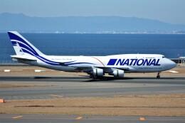 MSN/PFさんが、中部国際空港で撮影したナショナル・エアラインズ 747-412(BCF)の航空フォト(飛行機 写真・画像)