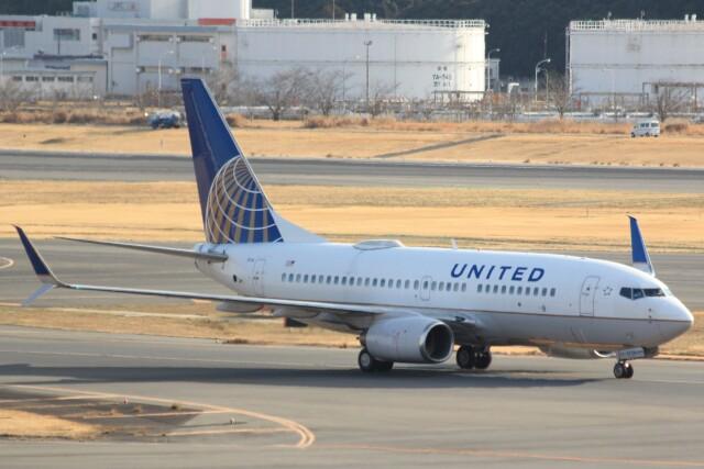 cassiopeiaさんが、成田国際空港で撮影したユナイテッド航空 737-724の航空フォト(飛行機 写真・画像)