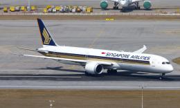 Asamaさんが、香港国際空港で撮影したシンガポール航空 787-10の航空フォト(飛行機 写真・画像)
