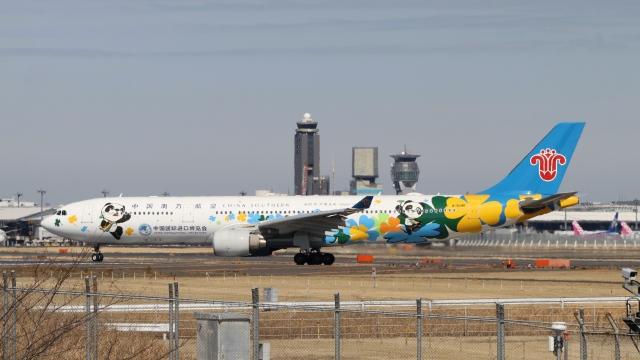 raichanさんが、成田国際空港で撮影した中国南方航空 A330-323Xの航空フォト(飛行機 写真・画像)