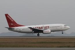 ☆H・I・J☆さんが、広島空港で撮影したイースター航空 737-73Vの航空フォト(飛行機 写真・画像)
