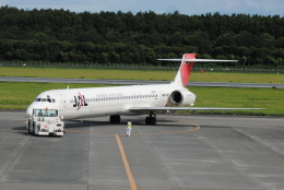 LEGACY-747さんが、熊本空港で撮影した日本航空 MD-90-30の航空フォト(飛行機 写真・画像)