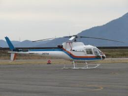 F.YUKIHIDEさんが、岡南飛行場で撮影した東邦航空 AS350B Ecureuilの航空フォト(飛行機 写真・画像)